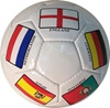 Picture of Country Flags Soccer Ball - Size 5 - Soccer Ball Decorated With Famous Soccer Playing Country Flags - Great Soccer Gift - Unique Soccer Ball