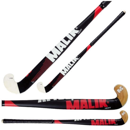 Picture of Junior Field Hockey Stick Heat Wood Outdoor Multi Curve - Quality: MARS, Head Shape: J Turn