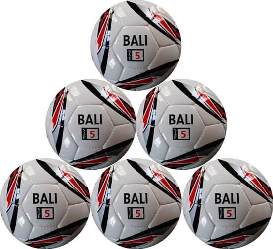 Soccer Ball Clearance Sale Bali Red Black