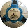 Picture of Ultra Soccer Ball - Six Pack - Synthetic PU Leather - Latex Bladder - Soft Touch Black,Blue
