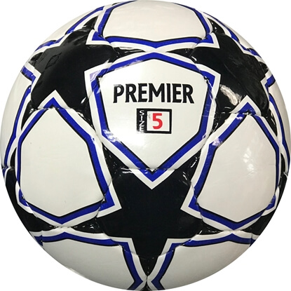 Premier  White with Black and royal Pic 1
