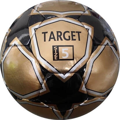 Picture of Target Soccer Ball (Size 5 Gold)
