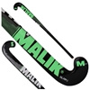 Picture of Field Hockey Stick Slam J Black Outdoor Wood Multi Curve - Quality: Pluto J, Head Shape: J Turn