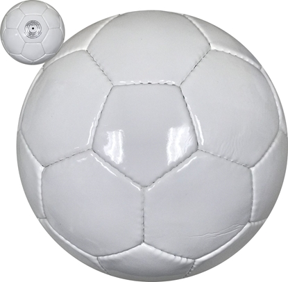 All White 32 Panel Soccer Ball