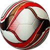 Picture of Omit Soccer Ball Six Pack - Hand Stitched - Synthetic PU Leather - Latex Bladder - Soft Feel Red,Black