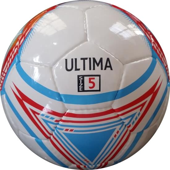 Ultima Sky Blue Red White Size 5 Match Ball