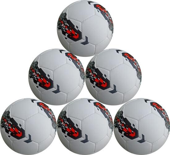 Classic Match Soccer Ball Korean Techno - six Pack - Size 5