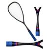 Picture of Pro Squash Racquet 100% Carbon Graphite Weight 120-125 gms Strung Light Weight Racket