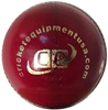 Picture of Cricket Ball Stealth Intermediate Grade Red Leather by Cricket Equipment USA