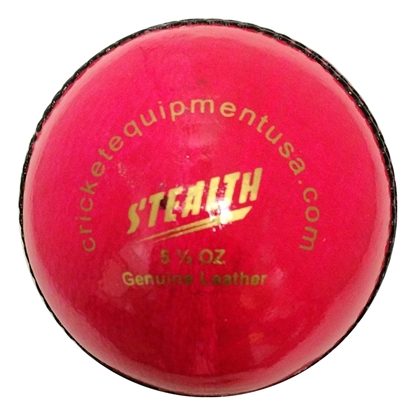 Picture of Cricket Ball Stealth Pink Leather by CE