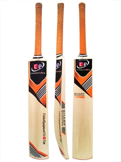Picture of CE Sharp Shooter Thick Profile Tape Tennis Cricket Bat Short Handle By Cricket Equipment USA