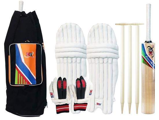 Picture of Cricket Set Kashmir Willow Power Max Size 6 By CE