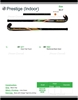 Picture of Indoor Carbon Pro Field Hockey Stick Prestige 60% Composite Carbon 40% Fiber Glass Medium Indoor Bow - Power Curves 35'' Inch 36.5'' Inch 37.5'' Inch