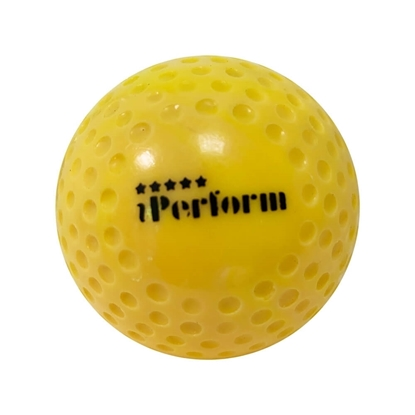 Picture of Field Hockey Ball Dimple Yellow Buy Single / One Ball