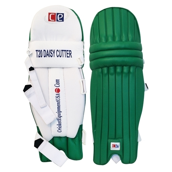 Picture of T20 Daisy Cutter Green Leg Guards by CE