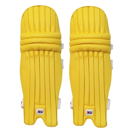 Picture of T20 Daisy Cutter Gold Yellow Leg Guards by CE