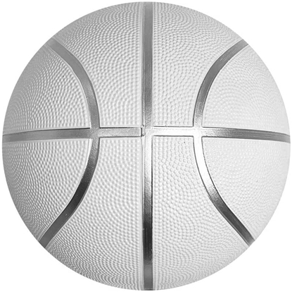Picture of White Basketball Ball for Autographs Signing Leisure Play Full Size 7