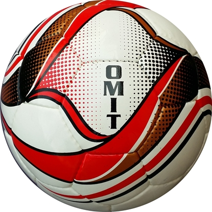Omit Soccer Ball - Red Black