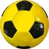 Picture of Soccer Ball Classic Collection Black Pentagons & Gold Hexagons - Butyl   Bladder