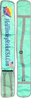 Picture of Field Hockey Stick Bag with Large Compartment Color Turquoise