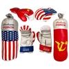 American & Russian Themes Boxing Set