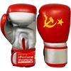 Picture of Training Boxing Gloves Men Women for Mixed Martial Arts American Flag & Russian  Flag Boxing Gloves