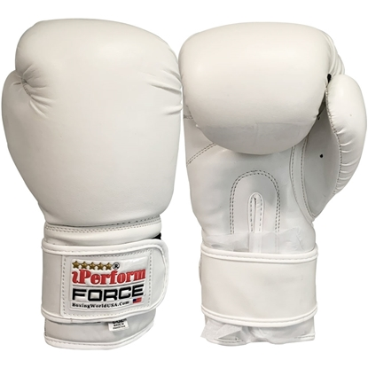 Picture of Training Boxing Gloves Men Women for Mixed Martial Arts Color White
