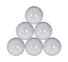 Picture of All White Plain Mini Soccer Balls Size 1 for Practice and Kids - 48 cm Circumference - Six Pack