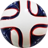 Picture of Classic Soccer Ball  6 Panels White and Blue Size 5 - Six Pack