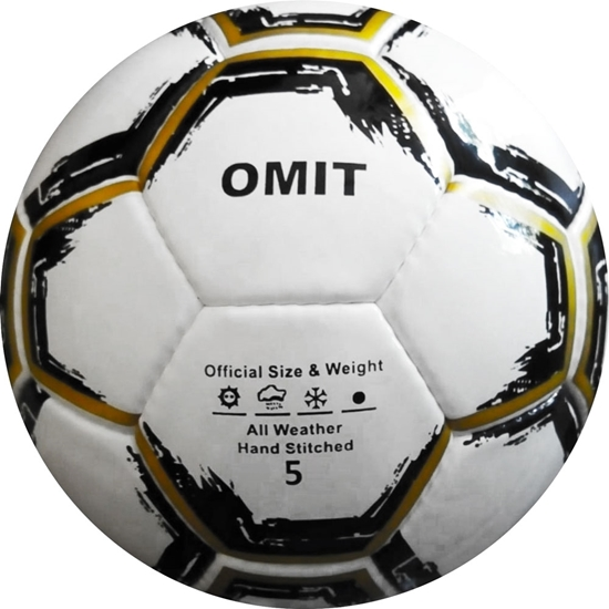 Omit Soccer Ball - Hand Stitched - Synthetic PU Leather