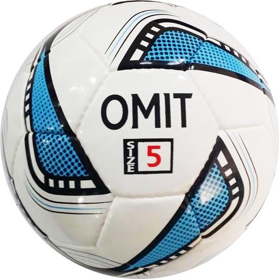 Omit Soccer Ball Black/Blue Size 5