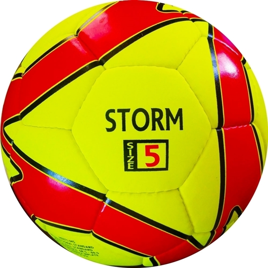 Storm Match Soccer Ball - Hand Stitched - PU